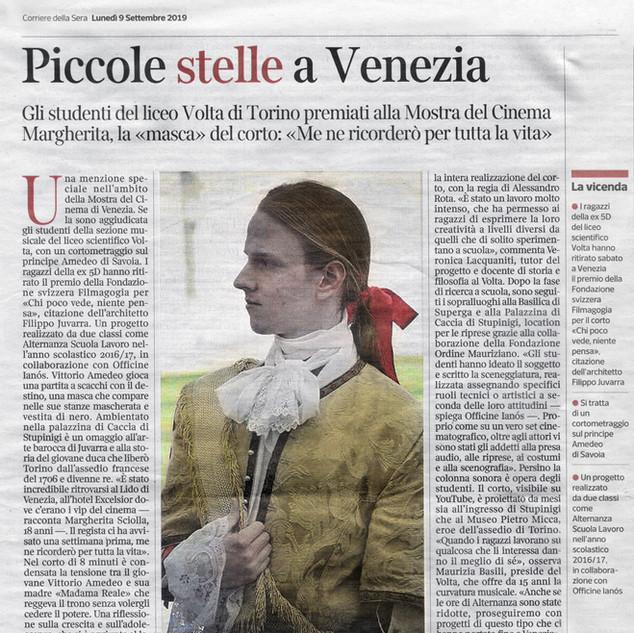 Corriere della Sera - 9 Settembre 2019.j