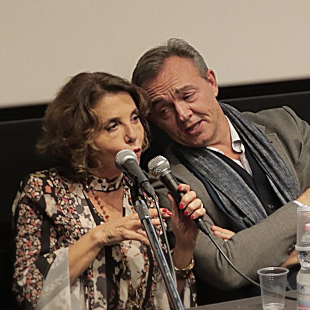 Chiara Salerno e Emanuele Salce