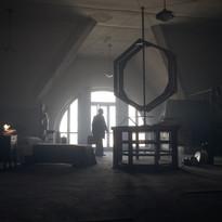 La soffitta in cui vive il misterioso professore