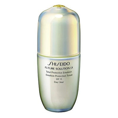 Shiseido - Emulsion Protection Totale SPF15 - Future Solution LX - 75ml