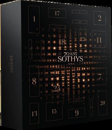 Calendrier de l'avent Sothys