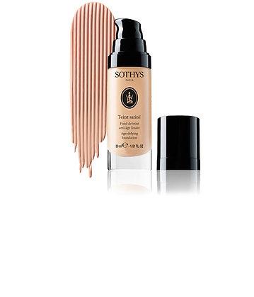 Sothys - Teint satiné - Fond de teint anti-âge lissant - beige rosé BR10