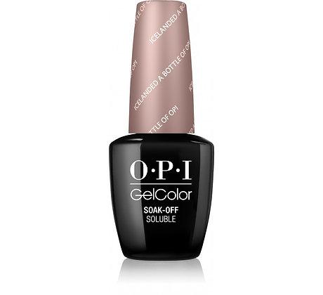 O.P.I GelColor Time Icelanded a Bottle of OPI 15ml