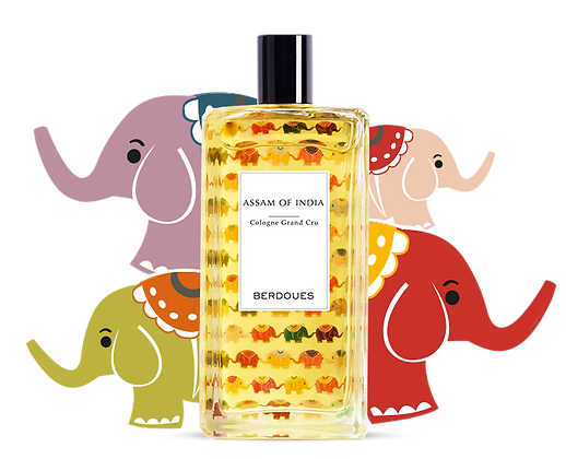 Berdoues - Assam Of India Cologne Grand Cru 100ml