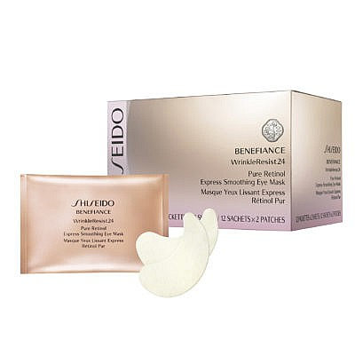 Shiseido - Masque Yeux Lissant Express Retinol Pur 12x2patchs - Benefiance