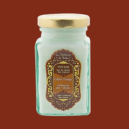 La Sultane de Saba - Crème Visage - Cérémonie des 7 Épices 100ml
