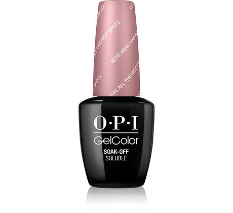 O.P.I GelColor Reykjavik Has All the Hot Spots 15ml