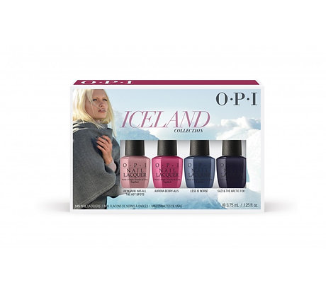 O.P.I Iceland Collection Mini Pack 4x3.75ml