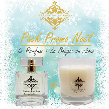 L'Abbaye Du Parfumeur -Pack Promo Noël Sous-Bois