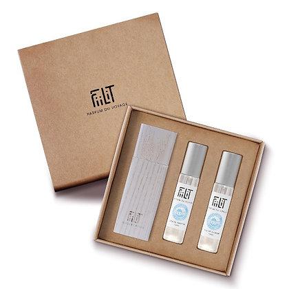 Fiilit - Coffret Parfum Cyclades 38°3'N - 3x10ml