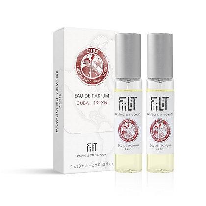 Fiilit - Recharges Eau de parfum Cuba 19°9'N - 2x10ml