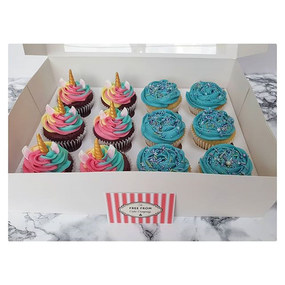This fun box of cupcakes went out yester