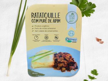 Ratatouille com Purê de Aipim