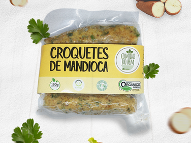 Croquetes de Mandioca | Vegano