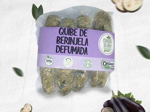 Quibe de Berinjela Defumada | Vegano