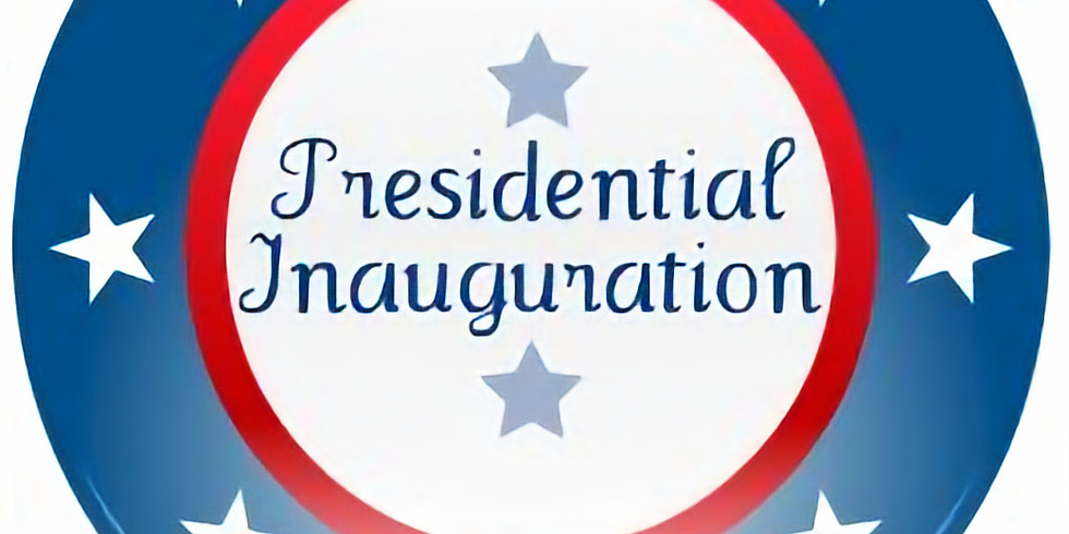 Join us on Inauguration Night