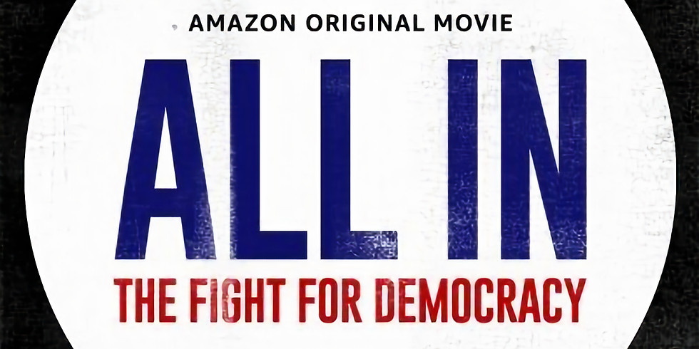 """Screening and Conversation: """"All In"""" Documentary by Stacey Abrams"""