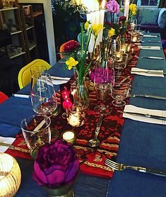 THAI SUPPER CLUB_ TABLE SETTING IN THE D
