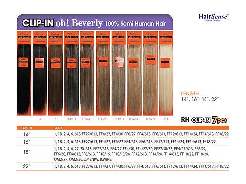 100% REMI HUMAN HAIR CLIP-IN 7PCS