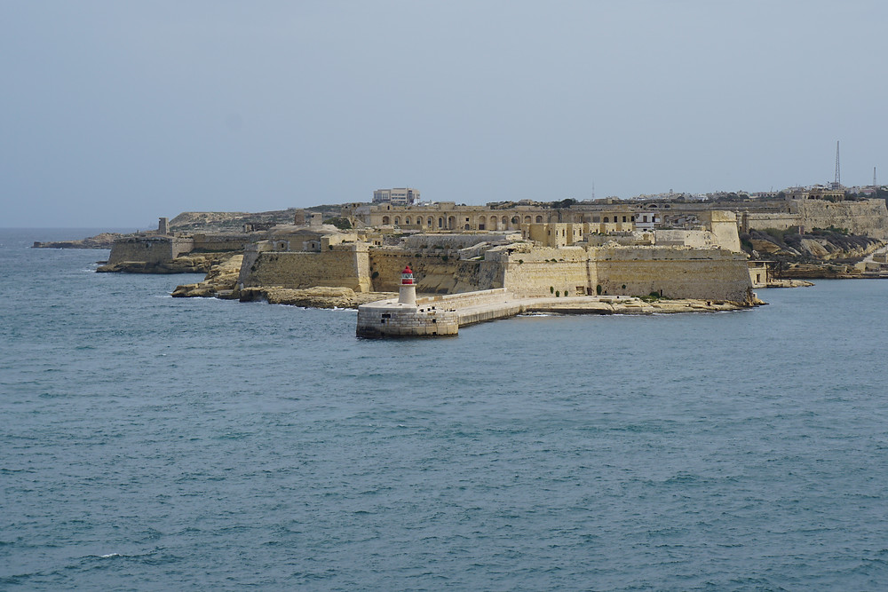 Entry into Grand Harbor, Malta