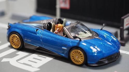 DreamsWorkShop 1/64 Figures EVA 2pcs set  In Black Series Car Poses DWS164054