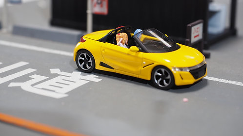 DreamsWorkShop 1/64 Figures EVA N S660 3pcs set  In Car Poses DWS164054Y