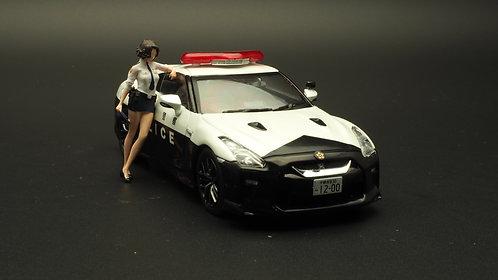 FigureWorkShop 1/43 Figures Series 1Pcs FWS143001 Japan Police