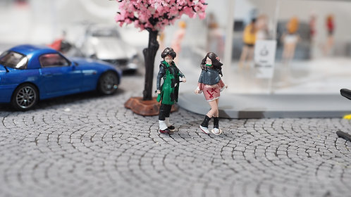 DreamsWorkShop 1/64 Figures 2pcs set  DWS164034