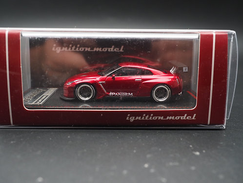 ignition model IG Model 1/64 PANDEM NISSAN GTR R35 Red