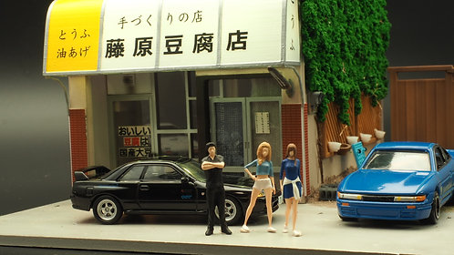 FigureWorkShop 1/64 Figures Anime Series 3Pcs  FWSA164006