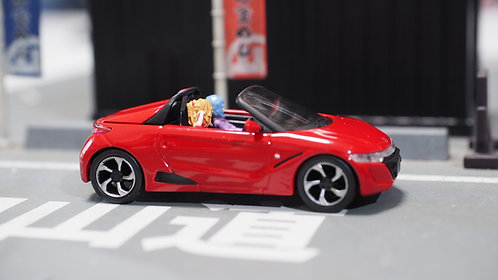 DreamsWorkShop 1/64 Figures EVA N S660 3pcs set  In Colour Car Poses DWS164053R