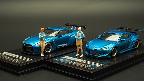FigureWorkShop 1/64 Figures Camo 2Pcs Set FWS164035 Blue Series
