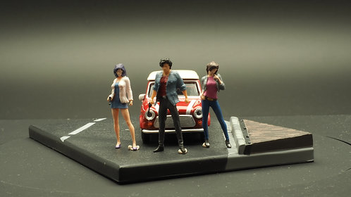 DreamsWorkShop 1/64 Figures 3pcs set  DWS164001