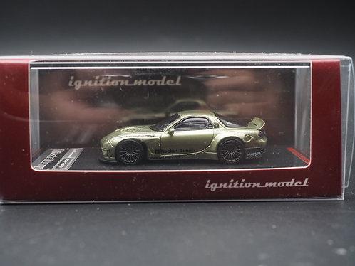 ignition model IG Model 1/64 PANDEM Mazda RX7 Green Metallic