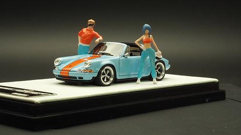 FigureWorkShop 1/64 Figures Racer Orange Blue 2Pcs Set FWS164068