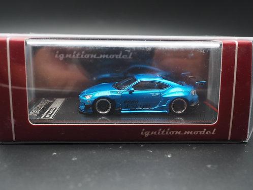 ignition model IG Model 1/64 PANDEM TOYOTA FT86 Blue