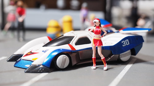 DreamsWorkShop 1/64 Figures GPX 1pcs set  Stand Poses DWS164051