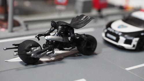 DreamsWorkShop 1/64 Figures Batman Batpod 2pcs set  DWS164050
