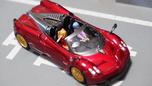 DreamsWorkShop 1/64 Figures EVA 2pcs set  In Colour Car Poses DWS164053