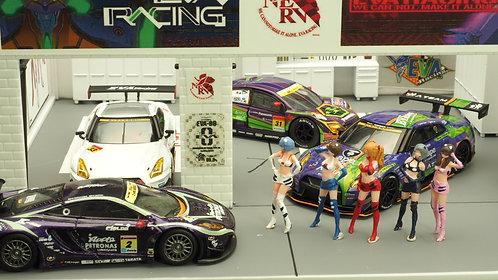 FigureWorkShop 1/64 Figures Racing Queen 5Pcs Set FWS164053S
