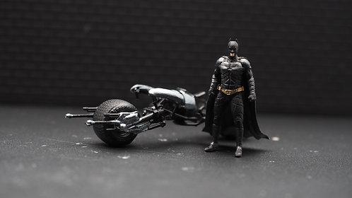 DreamsWorkShop 1/64 Figures Batman Batpod 2pcs set  DWS164043