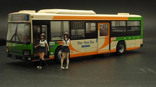 FigureWorkShop 1/64 Figures Teen Girl School Ver  2Pcs Special Set FWS164JPS