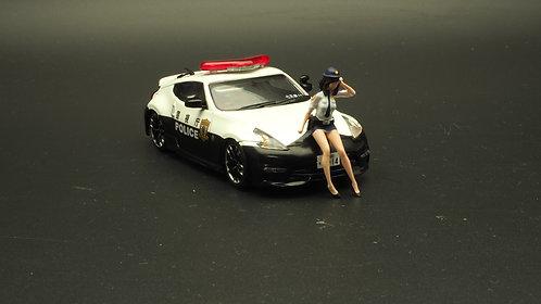 FigureWorkShop 1/43 Figures Series 1Pcs FWS143003 Japan Police