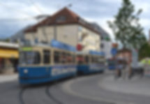 TRIEBWAGEN TYP M 4.65 München tram