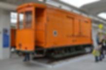 SALZWAGEN TYP s 4.48 3901 tram München salzwagen trambahn orange