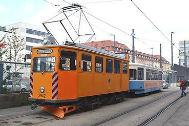 FAHRDRAHT-KONTROLLWAGEN TYP FK 1.8 2942 münchen Tram