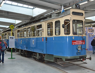 Tram Typ G 1.8, München 670
