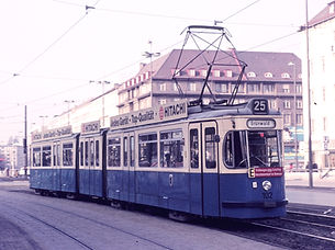 Tram tatzelwurm Typ P 1.65 München 102
