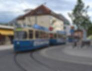 Tram Typ M 4.65, München 2412