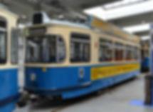 TRIEBWAGEN TYP Nr. 2668 M 5.65 tram München MVG Museum